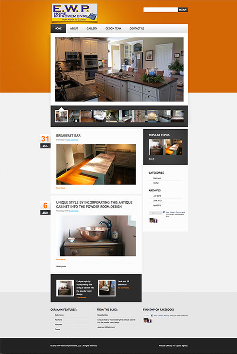 web design and development - Home Improvement Design
